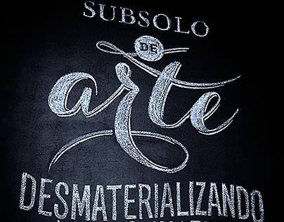 Lettering desMATéria 2014