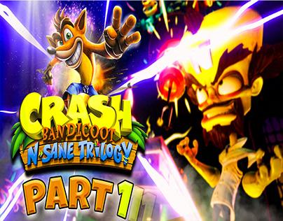 Crash Bandicoot N sane Trilogy Part 1