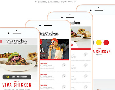 Viva Chicken NCR APP Build Process and Design
