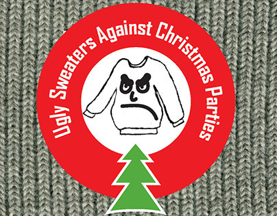 Ugly Sweaters - Gag Gift, Package Design