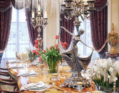 "Luxury Villa Interior ""Qatar"""