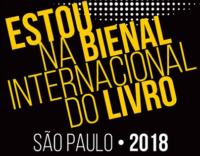 Estou Na Bienal Internacional do Livro de SP 2018