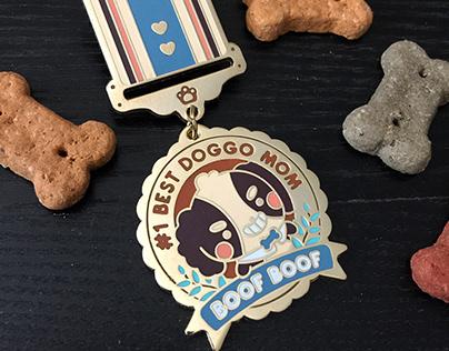 Enamel Pins & Medals