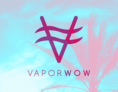 Vaporwow - branding project