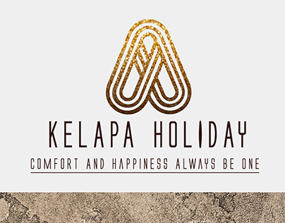 Kelapa Holiday Logo & Marketing Kit Design