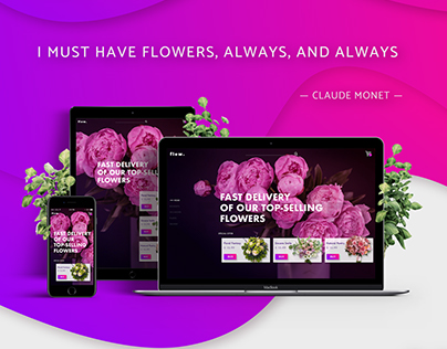 Online Store Website. herb.
