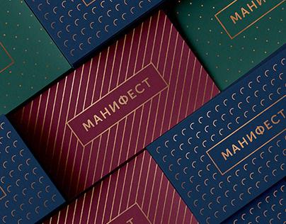 Manifest apartments Branding