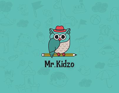 Mr. Kidzo - Brand Identity and Design