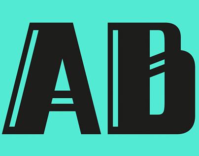 Alphabettes.org lettering header