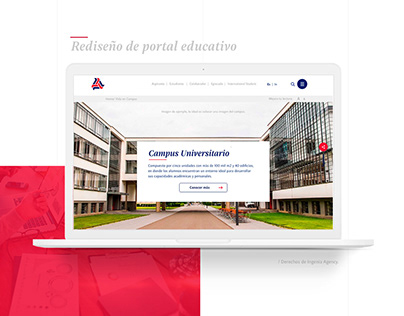 Rediseño portal educativo
