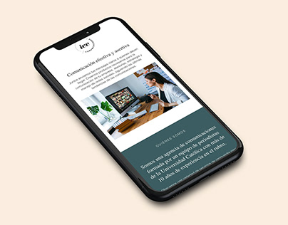 Web design for chilean communication agency