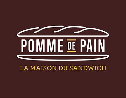 Pomme de Pain - Branding - Carré Noir