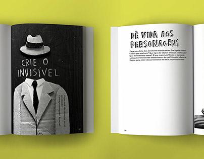 O MUNDO IMAGINÁRIO DE... (hand lettering)