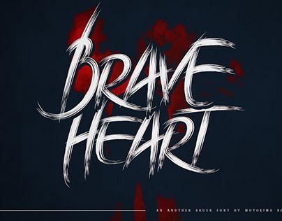 Brave Heart - Typeface