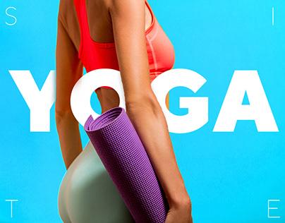 YOGA - Landing page