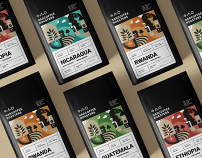 Narcoffee - Concept Packaging