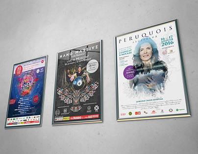 Posters of events