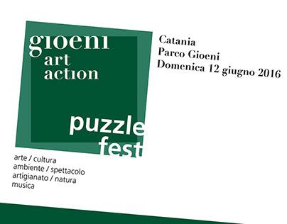 gioeni art action / puzzle fest 2016