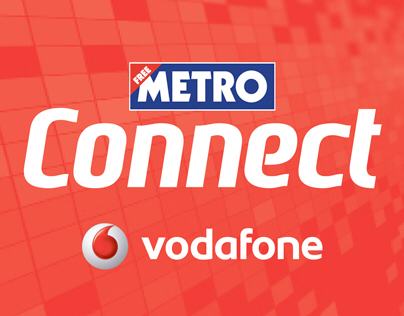 Vodafone sponsorship of Connect section in Metro