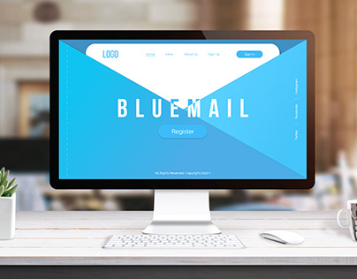 BLUEMAIL Landing Page