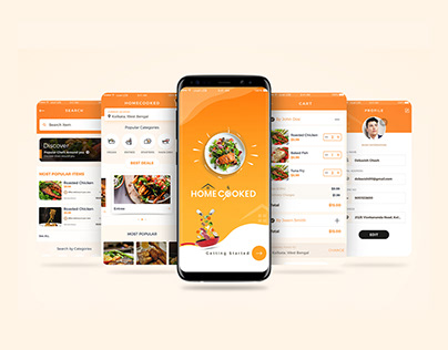 Homecooked Mobile App