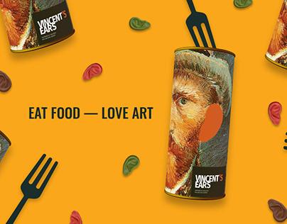 Eat Art. Vincent`s Ears