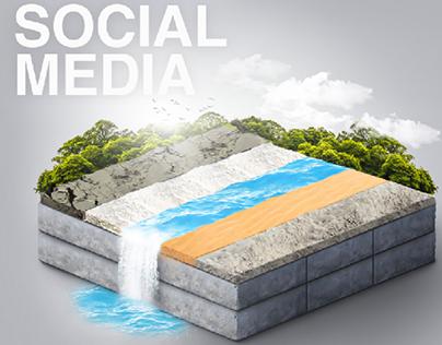 Delta Block - Social Media