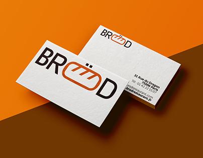 Bröd restaurant / branding