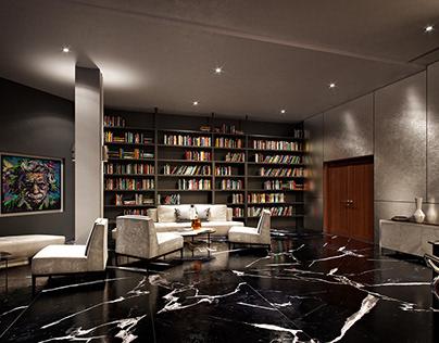 Bar interior - CGI