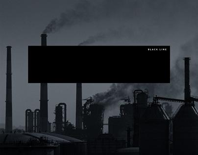 "Black Line - Branding, Posters, 12"" Vinyl"