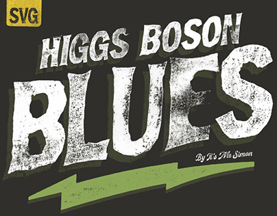 Higgs Boson Blues Font