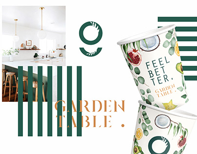 Garden Table branding (Chicago)