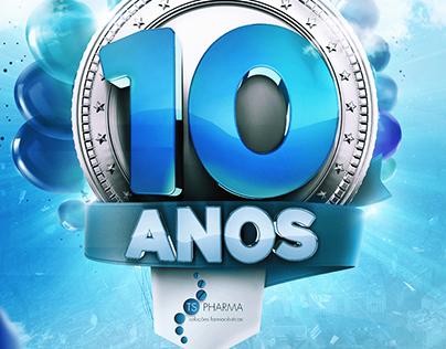 TS Pharma | 10 Anos