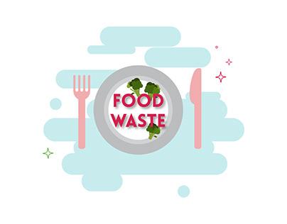 Food Waste - Digital Animation