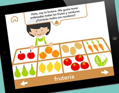 ¿De donde vienen los alimentos? - APP for kids