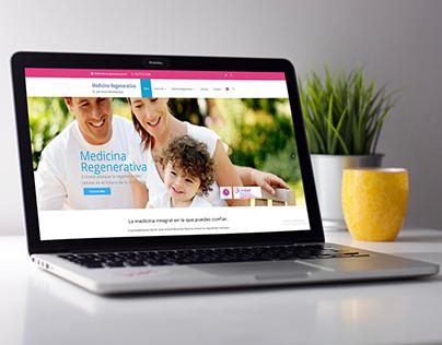 Web Design   Medicina-Regenerativa.com.mx