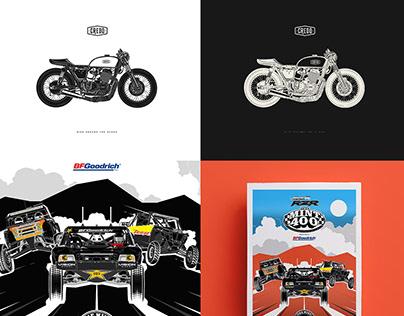 Illustration Cars