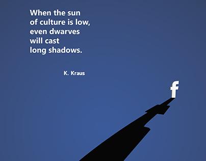 """""""Facebook shadow"""""""