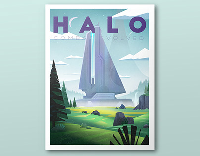 Halo Poster Tribute