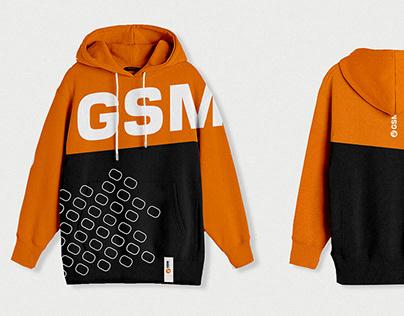 Брендирование одежды для компании GSM