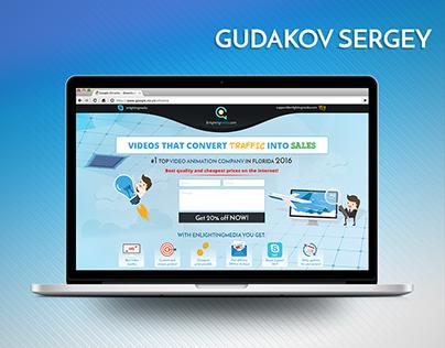 Website Design for video studio