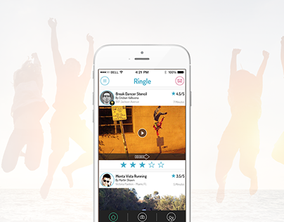 Ringle | Video Challenging Application for iPhone
