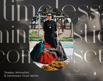 Timeless, Minimalistic & Connoisseur Visual Identity