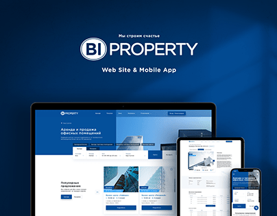 Website and Mobile App for the rental company