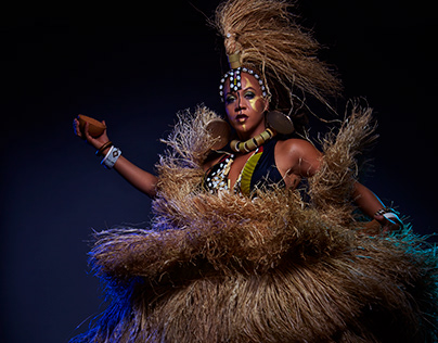 The Proclamation - costumes for Kumasi Carnival, Ghana