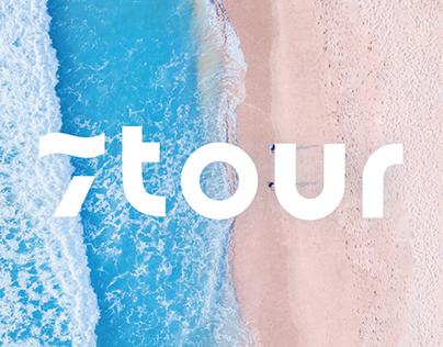 7tour - tour agency logo