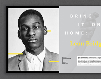 Leon Bridges // Repurpose Magazine