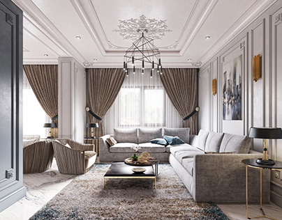 NEOCLASSIC LIVING ROOM&DINING