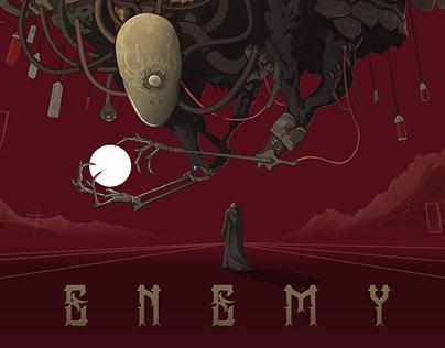 Bulletscript: Enemy EP album artwork