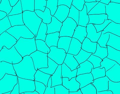 Aqua Crackle